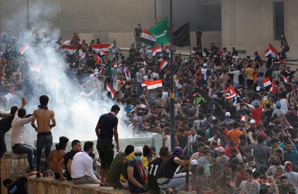3 killed in clashes of Iraqi anti-gov't protests