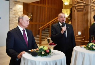 President Aliyev meets participants of 16th Annual Meeting of Valdai International Discussion Club (PHOTO)