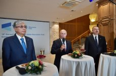 President Aliyev meets participants of 16th Annual Meeting of Valdai International Discussion Club (PHOTO) - Gallery Thumbnail