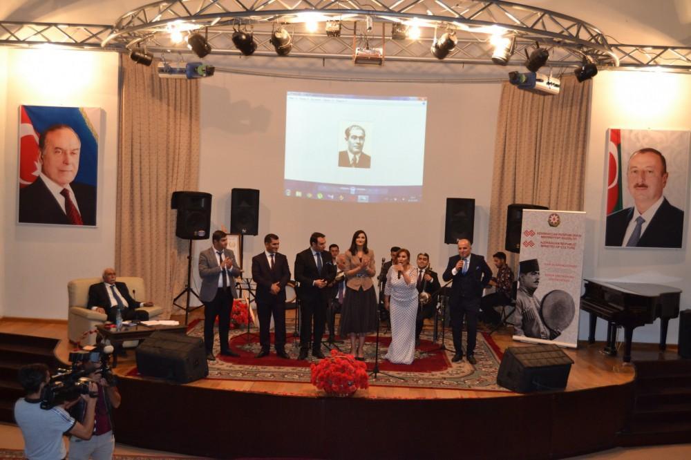Карабахская школа мугама. 130-летие Сеида Шушинского отмечено в Горадизе (ФОТО)