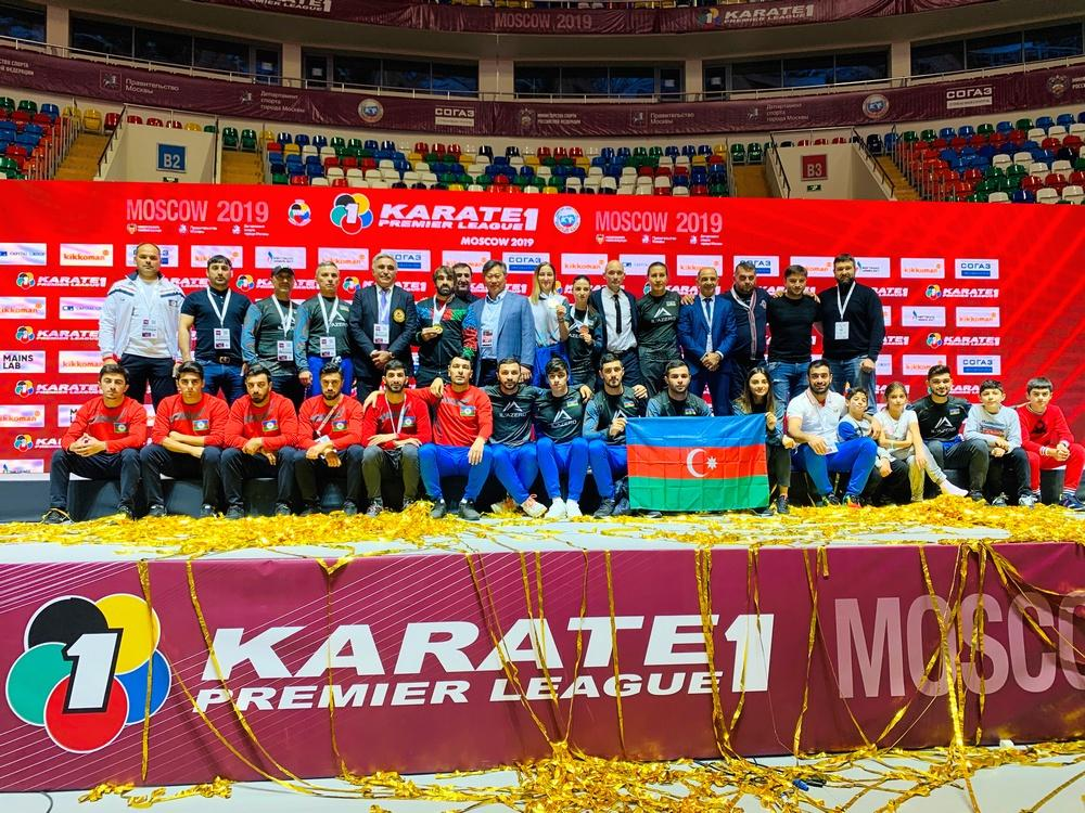 Азербайджанские каратисты взяли «золото» и «бронзу» в Москве (ФОТО)