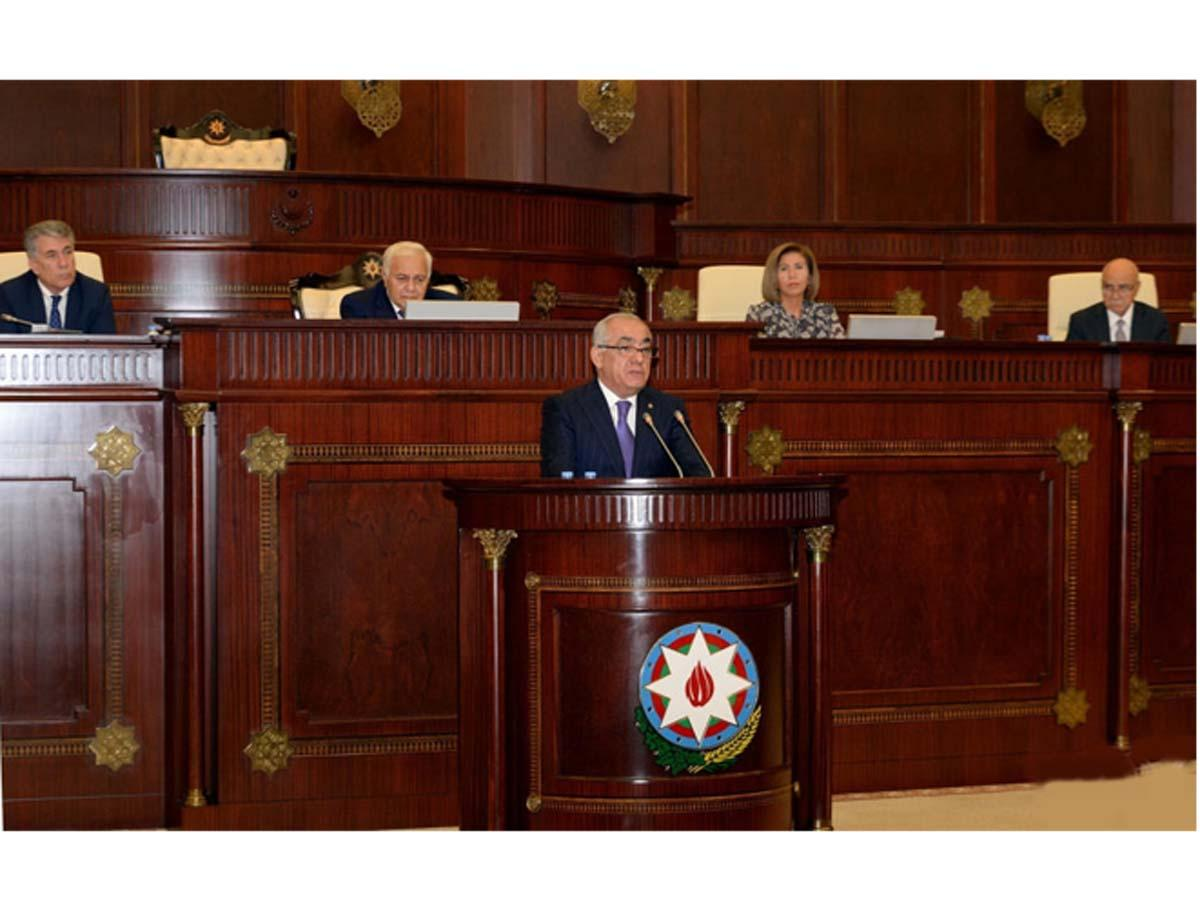Ali Asadov: I promise to adequately fulfill all tasks set by President Ilham Aliyev