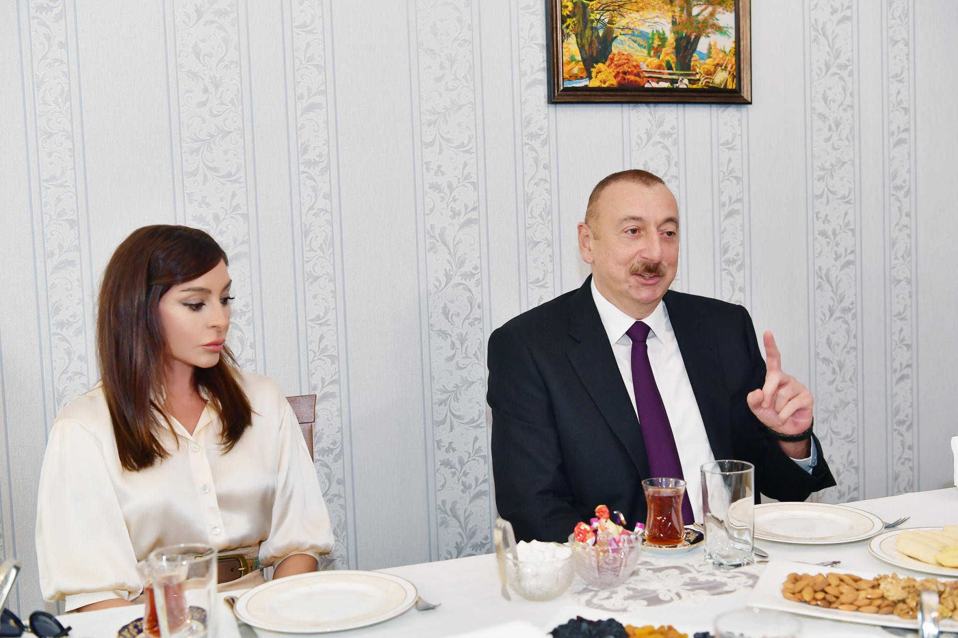 Ilham Aliyev: I am telling truth from platforms where whole world can hear