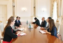 President Ilham Aliyev receives delegation led by president of Swiss Council of States (PHOTO) - Gallery Thumbnail