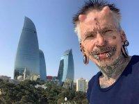 Баку был шокирован моим видом - Рольф Бухгольц, самый пирсингованный человек в мире (ФОТО) - Gallery Thumbnail