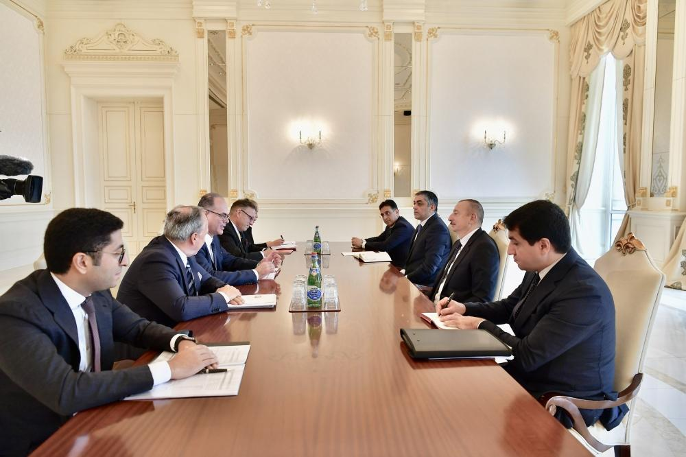 President Aliyev receives Austrian minister for transport, innovation and technology