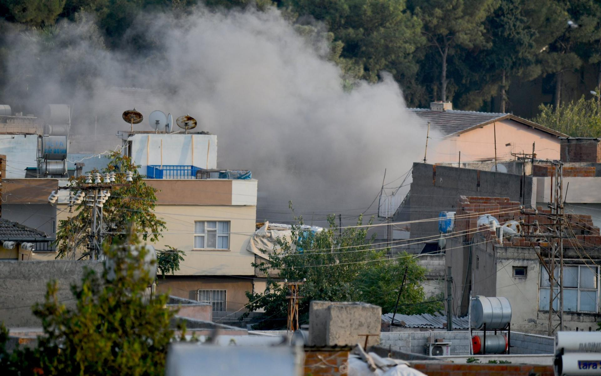 Turkey's territory undergoes rocket shelling from Syria - media (PHOTO)