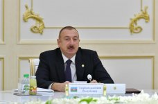 President Aliyev attends CIS Heads of State Council's session in limited format in Ashgabat (PHOTO) - Gallery Thumbnail