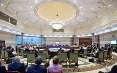 President Ilham Aliyev attends expanded session of CIS Heads of State Council in Ashgabat (PHOTO) - Gallery Thumbnail