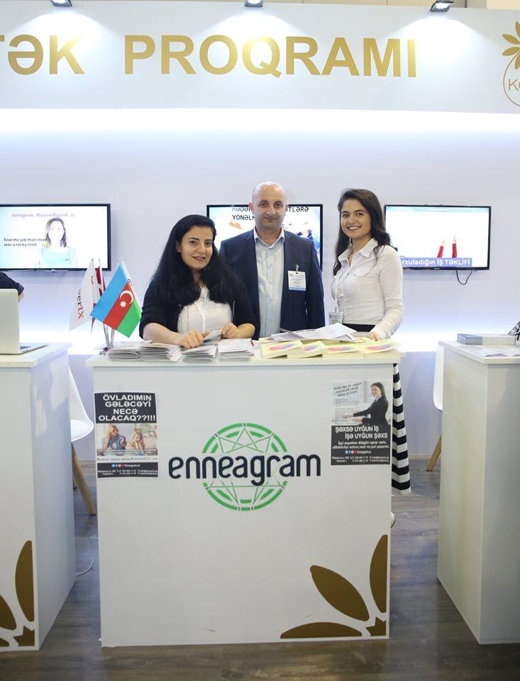 Entrepreneurs participating in Int'l Education Exhibition with Azerbaijan's SME Development Agency's support (PHOTO) - Gallery Image