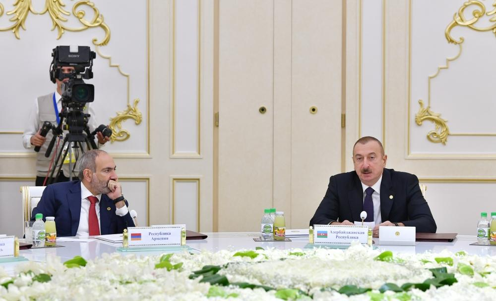 President Aliyev attends CIS Heads of State Council's session in limited format in Ashgabat (PHOTO) - Gallery Image