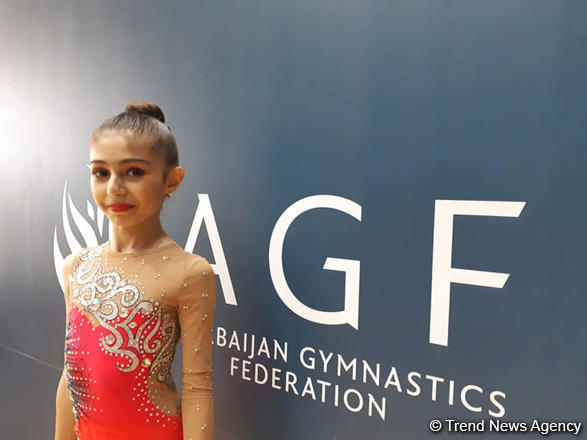 Young Azerbaijani gymnast: Audience's support helps to overcome excitement