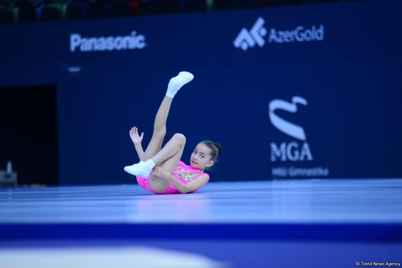1st day of competitions of 5th Azerbaijan and Baku Championships in Aerobic Gymnastics kicks off (PHOTO) - Gallery Image