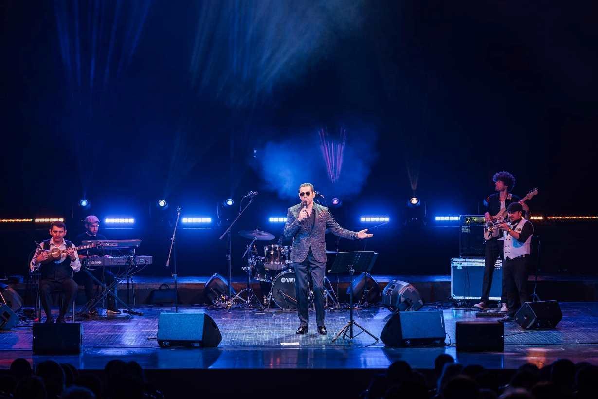 Азербайджанский джаз в синтезе тара и уда покорил Международный фестиваль в России  (ФОТО) - Gallery Image