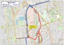 В Баку меняется схема движения ряда автобусов (ФОТО) - Gallery Thumbnail