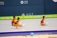 Rhythmic, aerobic gymnastics competitions underway in National Gymnastics Arena in Baku (PHOTO) - Gallery Thumbnail