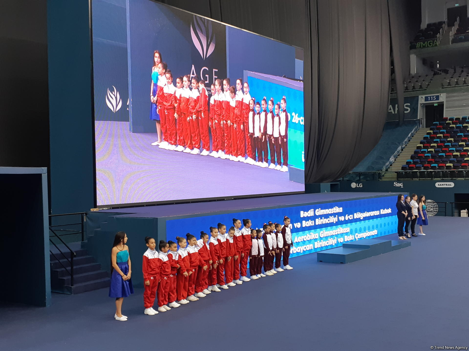 Awarding ceremony held for winners of 26th Azerbaijan and Baku Championships in Rhythmic Gymnastics and 5th Azerbaijan and Baku Championships in Aerobic Gymnastics