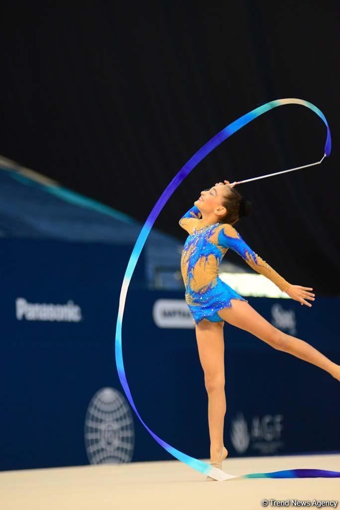 Rhythmic, aerobic gymnastics competitions underway in National Gymnastics Arena in Baku (PHOTO) - Gallery Image