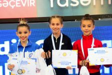 Baku hosts awarding ceremony for winners of Rhythmic Gymnastics Interregional Cup (PHOTO) - Gallery Thumbnail
