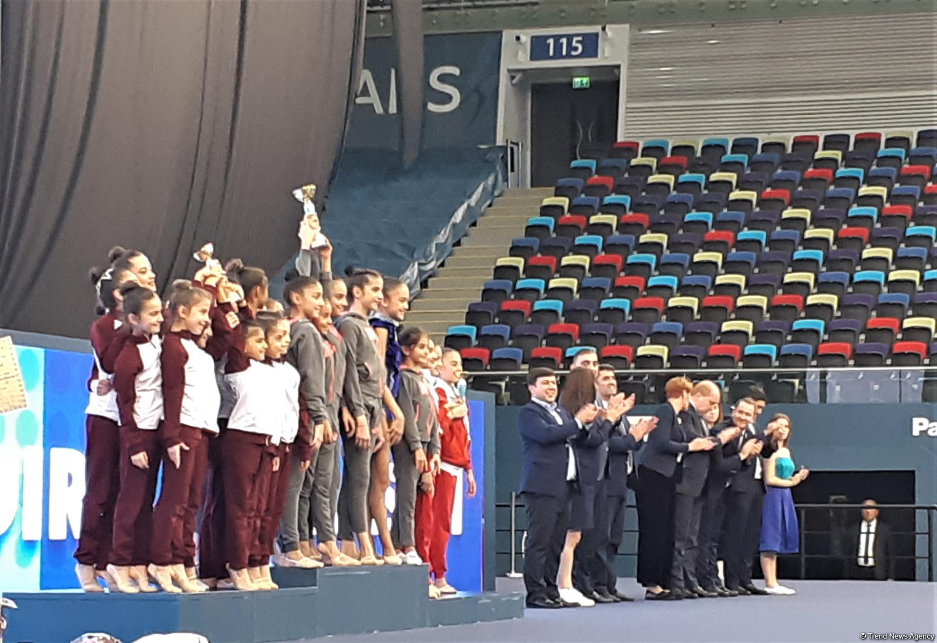 Awarding ceremony held for winners of 26th Azerbaijan and Baku Championships in Rhythmic Gymnastics (PHOTO) - Gallery Image