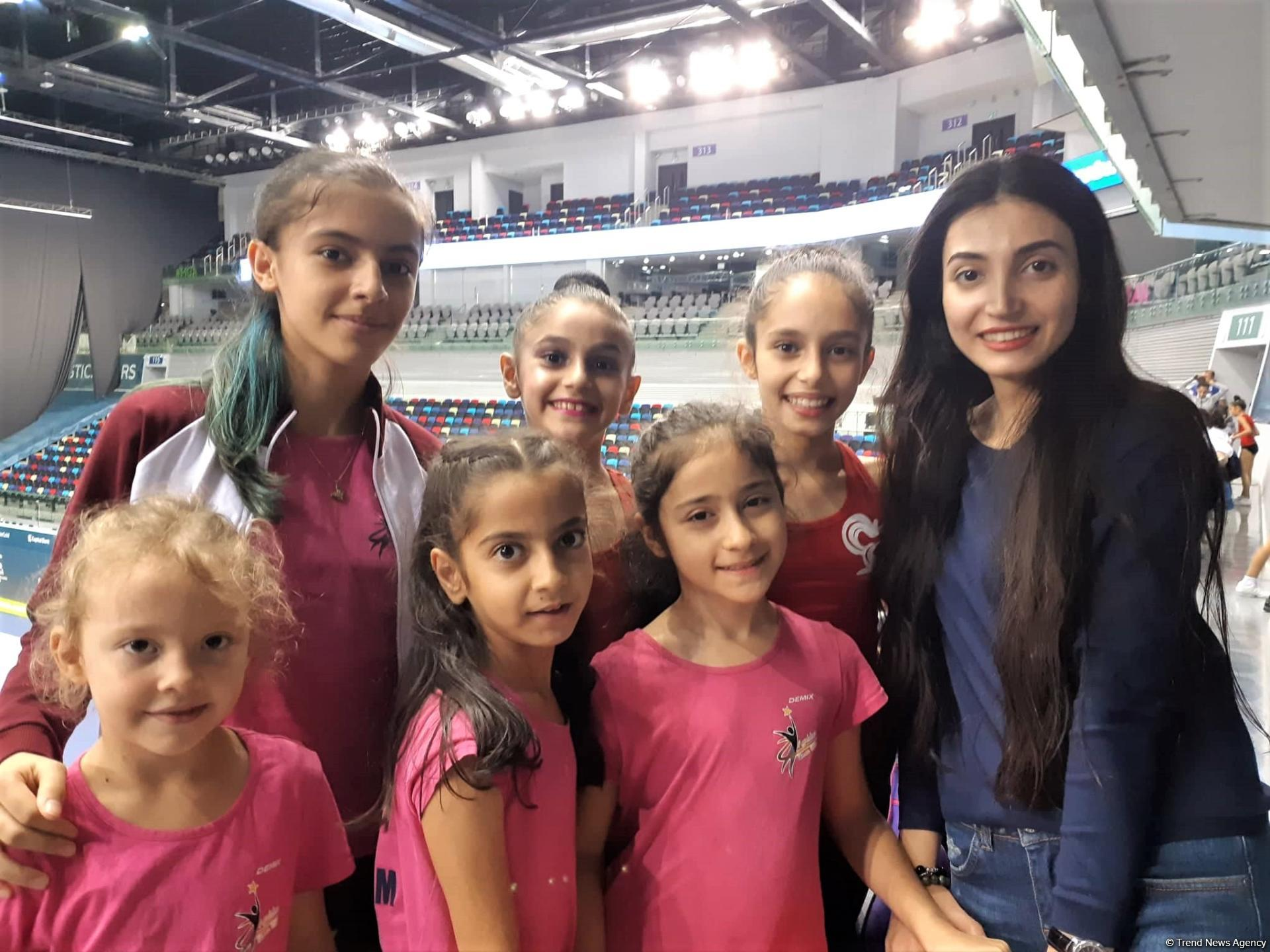 Audience support plays big role for gymnasts, says spectator of Baku Championships