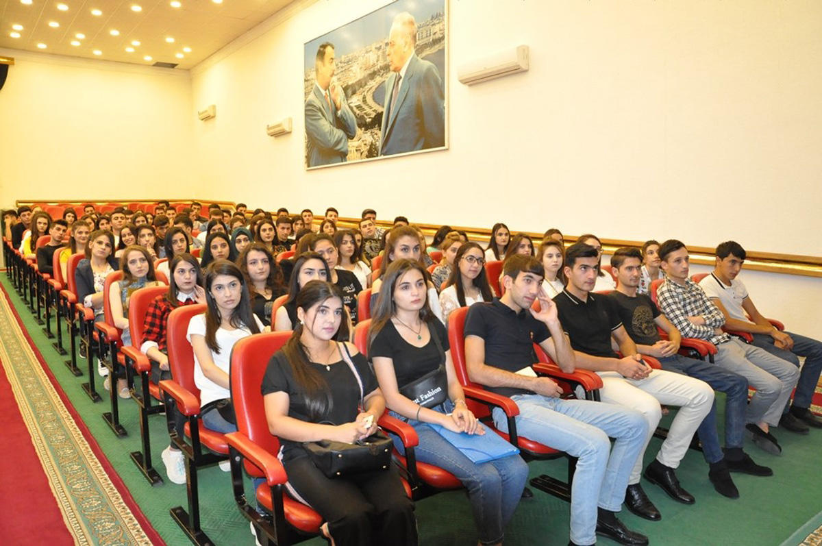 Azercell meets with students of regional universities (PHOTO) - Gallery Image
