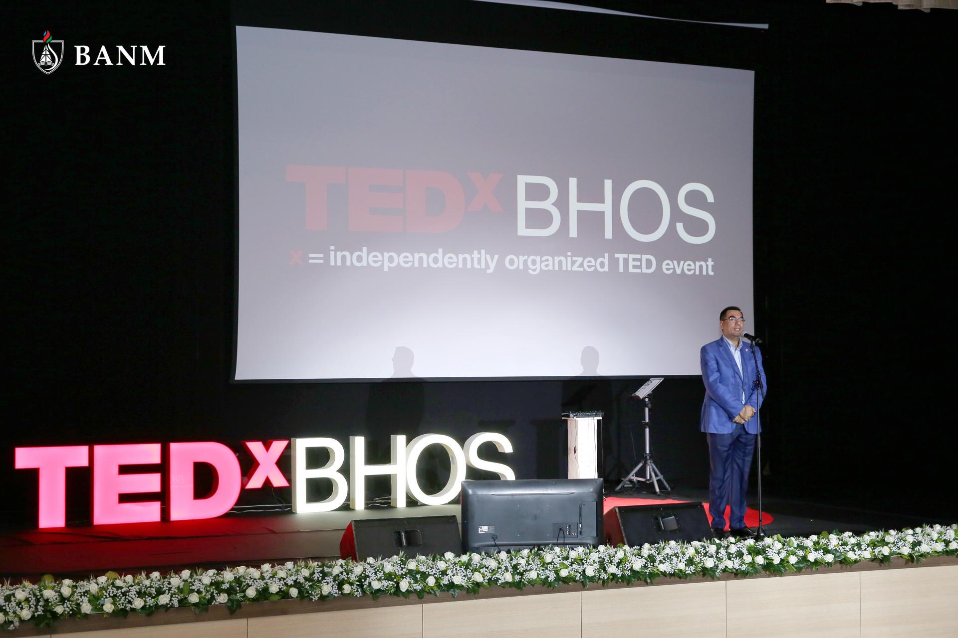"""Bakı Ali Neft Məktəbində növbəti """"TEDxBHOS"""" konfransı keçirilib"""