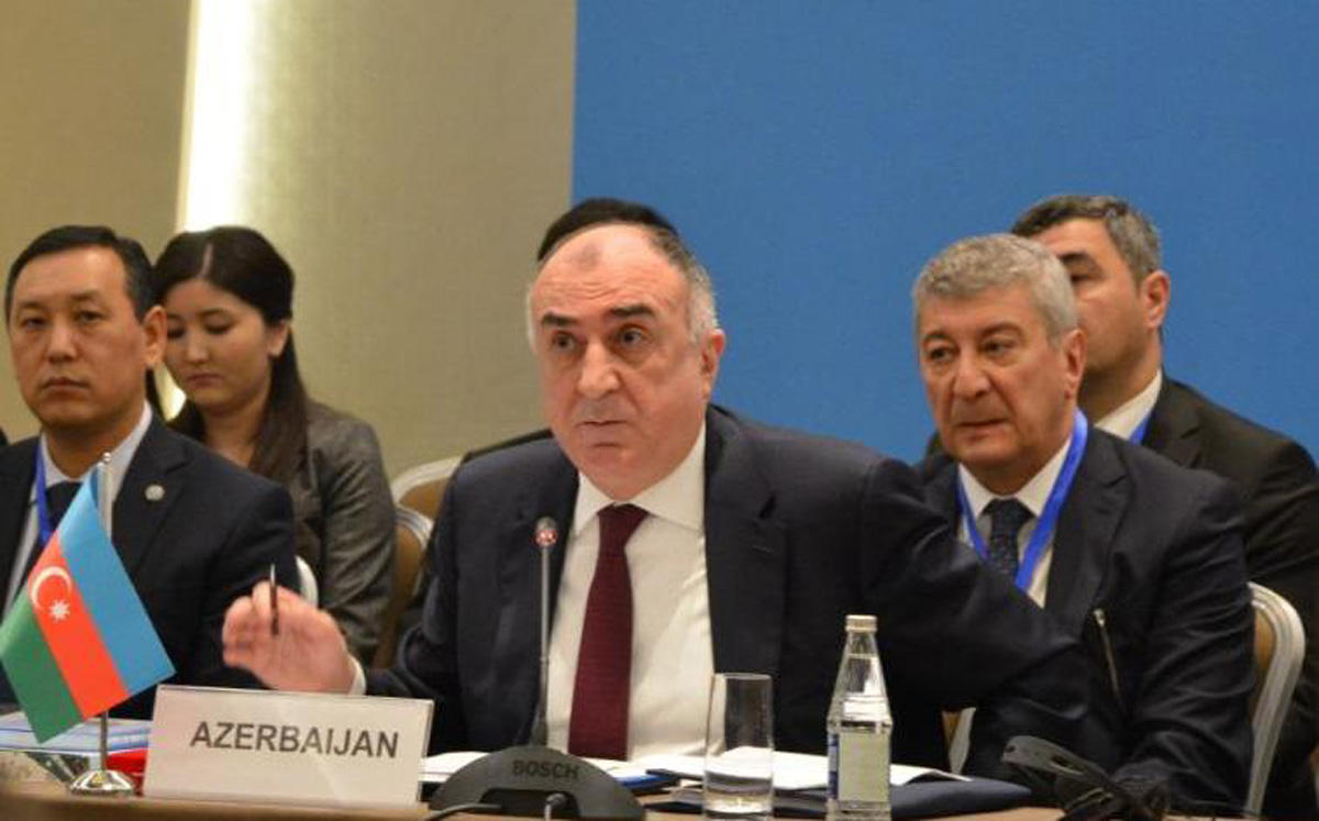 Azerbaijani FM delivers speech at 7th meeting of Council of FMs of Turkic Council (PHOTO)