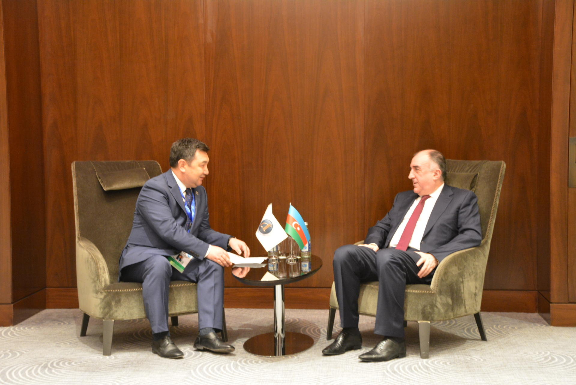 Azerbaijani FM meets president of Int'l Turkic Academy (PHOTO) - Gallery Image