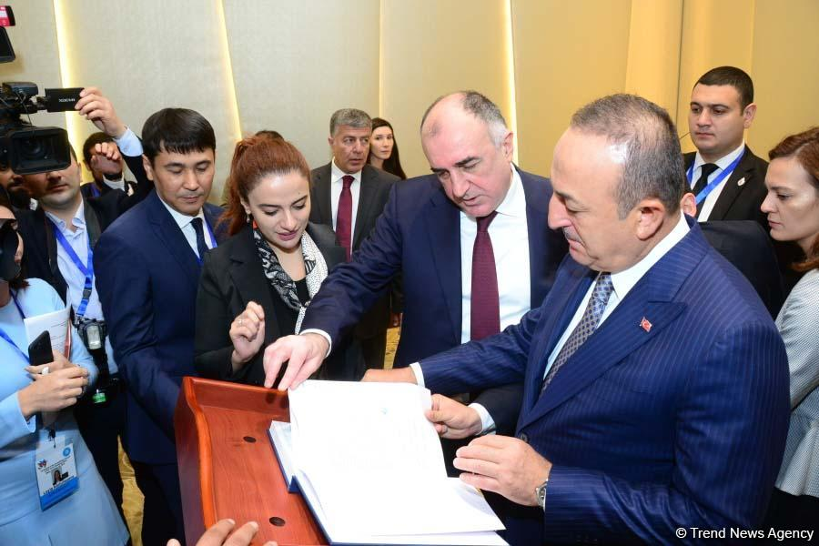 Meeting of FMs of Turkic Council states underway in Baku (PHOTO) - Gallery Image