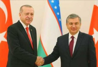 Uzbekistan, Turkey's Presidents discuss joint investment projects in Baku