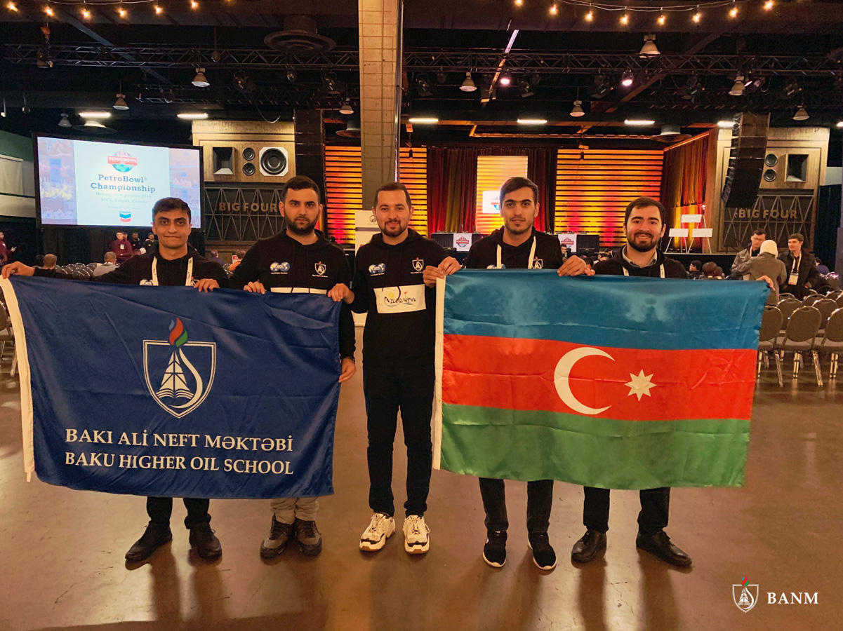 Students of Baku Higher Oil School represent Azerbaijan at prestigious int'l oil&gas competition (PHOTO) - Gallery Image