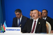 Президент Ильхам Алиев принял участие в VII саммите Совета сотрудничества тюркоязычных государств в Баку (ФОТО) - Gallery Thumbnail