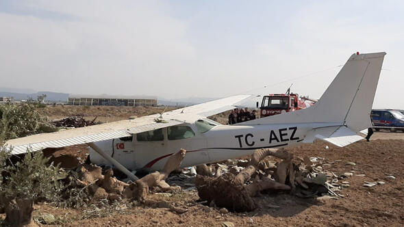 Small aircraft crashes in Rome, one passenger missing