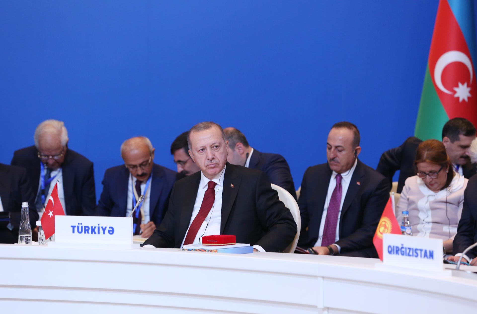 Президент Ильхам Алиев принял участие в VII саммите Совета сотрудничества тюркоязычных государств в Баку (ФОТО) - Gallery Image