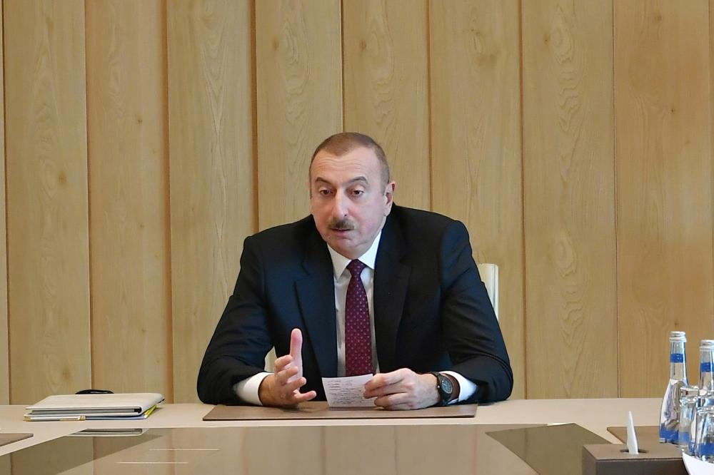 Azerbaijan's president: Main goal - to speed up economic growth, continue reforms