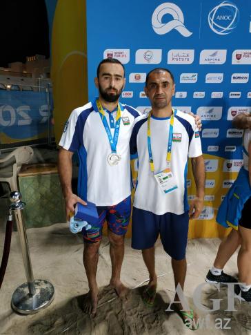 Güləşçilərimiz Dünya Çimərlik Oyunlarında iki medal qazanıb - Gallery Image