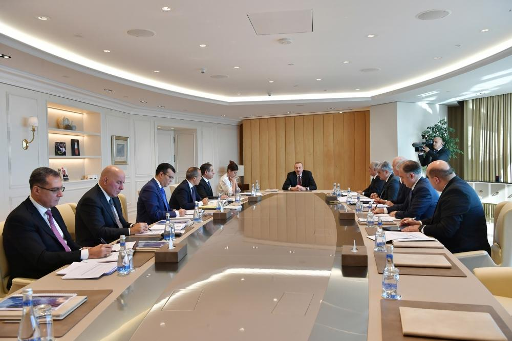 Ilham Aliyev: Azerbaijan's non-oil industry growth of more than 15% can be considered record indicator on global scale