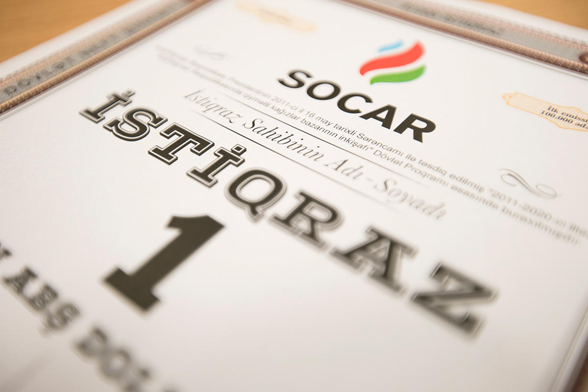 SOCAR makes interest payments on bonds