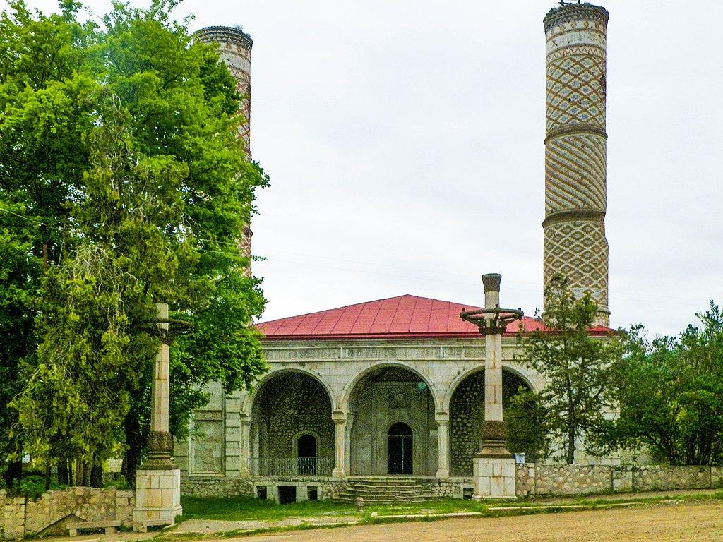 Ministry: Armenians changed interior of mosque in Shusha, trying to falsify history