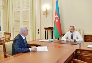 President Aliyev receives Shahin Mustafayev in connection with his appointment to new post