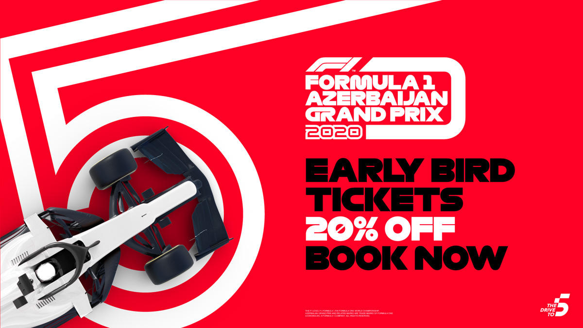 Tickets for Formula 1 Azerbaijan Grand Prix now on sale - Gallery Image