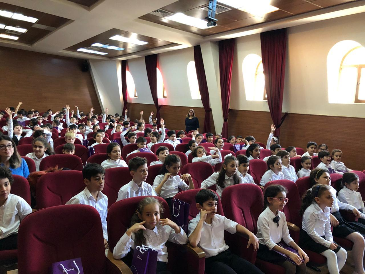 """""""Culture of safe behavior in cyberspace"""" discussed at Azerbaijani secondary schools (PHOTO) - Gallery Image"""
