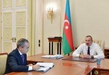 Президент Ильхам Алиев принял Микаила Джаббарова в связи с назначением его на новую должность (ФОТО) - Gallery Thumbnail