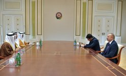 Azerbaijani president receives delegation led by UAE minister of state for foreign affairs (PHOTO) - Gallery Thumbnail