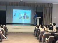 """""""Culture of safe behavior in cyberspace"""" discussed at Azerbaijani secondary schools (PHOTO) - Gallery Thumbnail"""