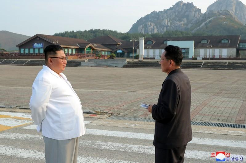 North Korea leader Kim vows to clear South Korea relics from Kumgang resort