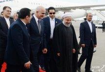 Президент Ирана Хасан Роухани прибыл с визитом в Азербайджан (ФОТО) - Gallery Thumbnail