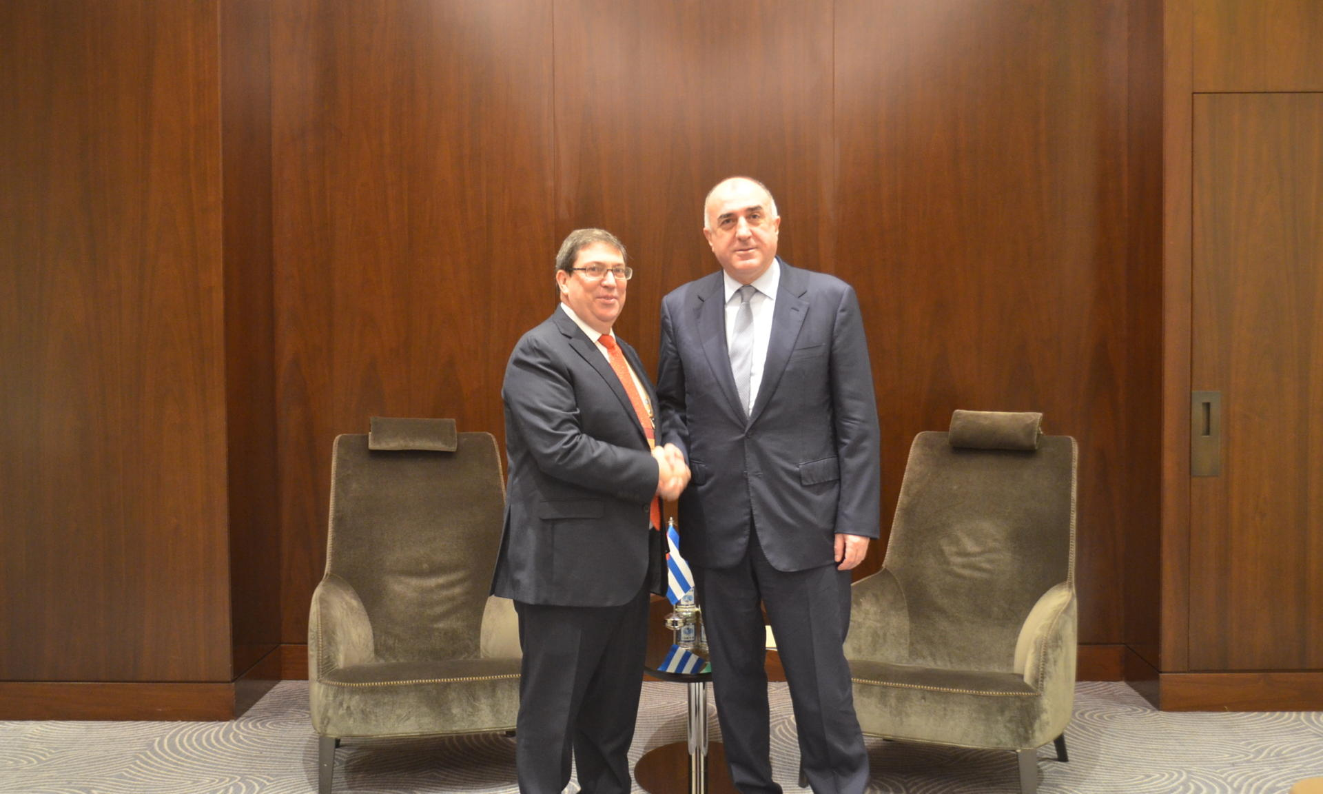 Azerbaijani FM: No progress during negotiations due to Armenia's destructive position (PHOTO)