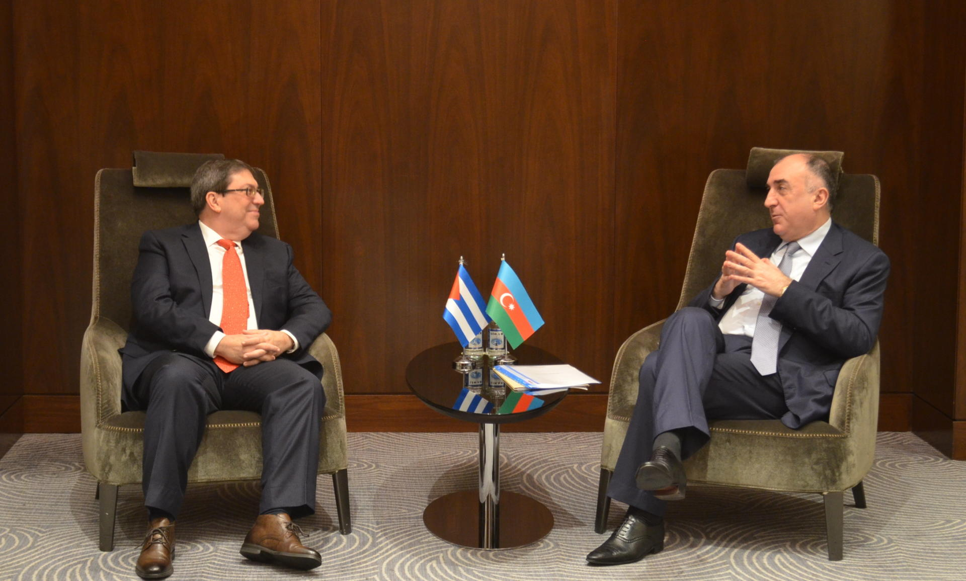 Azerbaijani FM: No progress during negotiations due to Armenia's destructive position (PHOTO) - Gallery Image